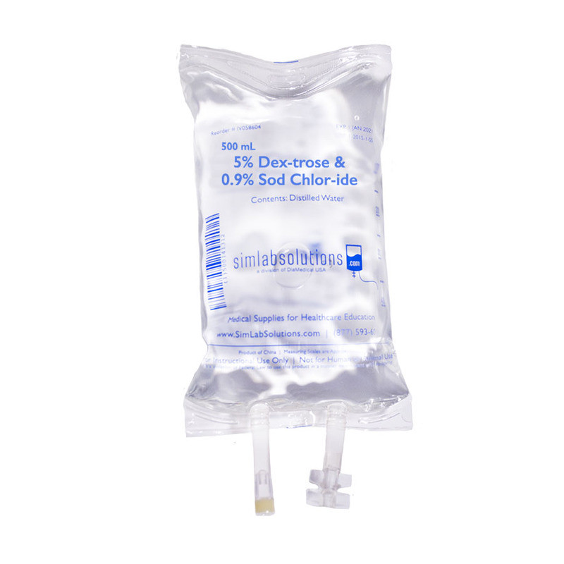 how to change iv bag