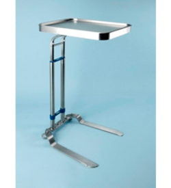 Benjamin Foot Operated Stainless Steel Mayo Stand SR031707