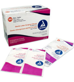 Latex Surgical Gloves Powder Free