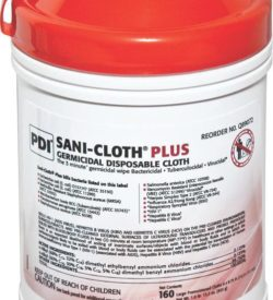 NPKQ89072H SANI-CLOTH Plus Germicidal Disposable Cloths