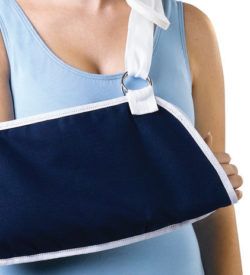 Deep Pocket Arm Slings, Dark Blue | Medical Supplies | DiaMedical USA