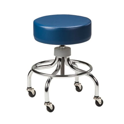 Chrome Base Stool | FR042350 | Furnishings / Exam Stools