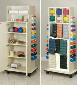 Medical Equipment | Physical Therapy | Rack, Wagons, and Organizers