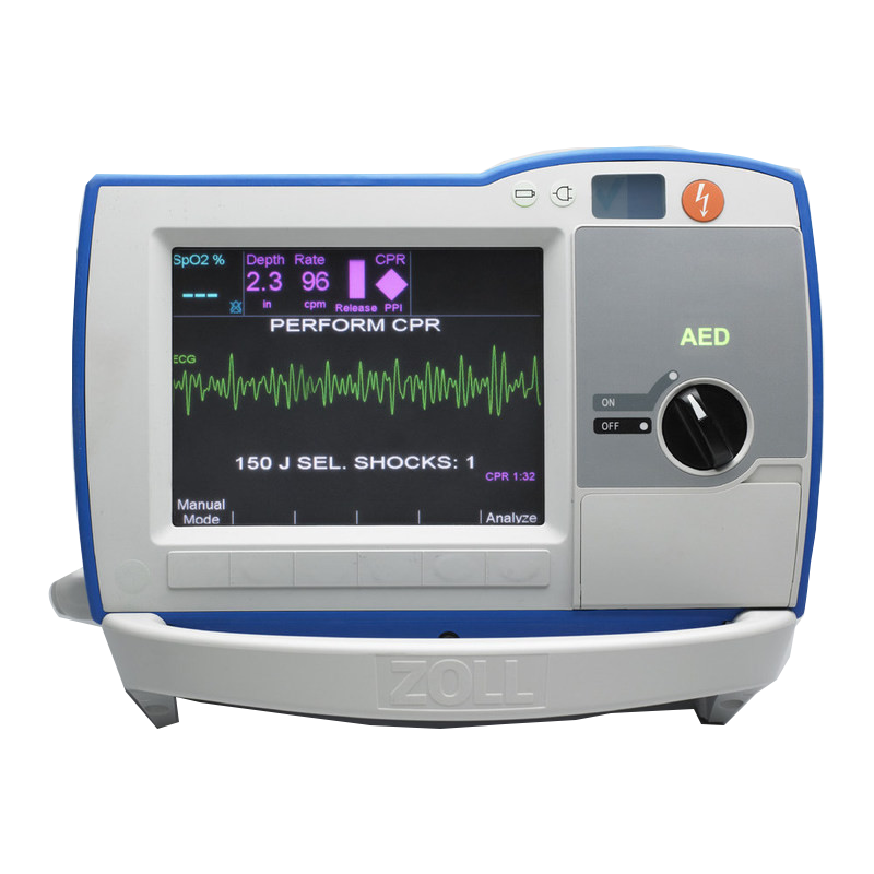 Zoll R Series Plus Defibrillator with Expansion Pack